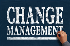 Change management Stock Photo