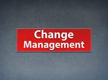 Change Management Red Banner Abstract Background. Change Management Isolated on Red Banner Abstract Background illustration Design royalty free illustration