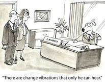 Change Management royalty free illustration