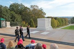 Free Change Of The Guard,Arlington National Cemetery, Virginia, USA Stock Photos - 103560813