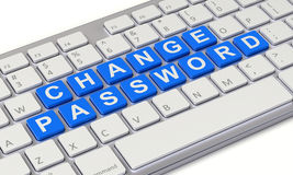 Change password concept Stock Photography