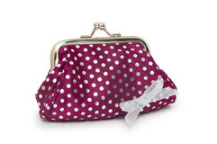 Change purse  on white background Stock Photography