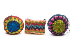 Change purse souvenir  central america Stock Image