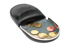A change purse Stock Photography
