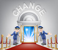 Change Red Carpet Entrance Royalty Free Stock Images
