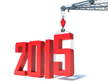 2014-2015 change represents the new year 2014 Stock Photo
