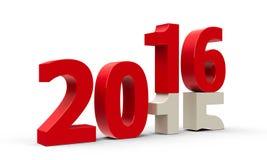 2015-2016 Royalty Free Stock Image