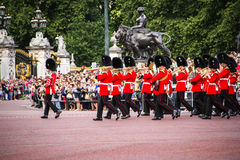 Change of the Royal Guards, United Kingdom. Royalty Free Stock Photography
