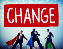 Change Solutions New Innovation Development Concept Royalty Free Stock Photos