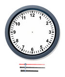 Change the time clock Stock Photo