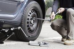 Change tire stock photos