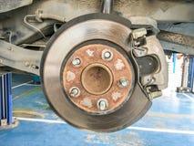 Change tire brake Stock Photos