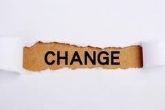 Change Stock Photos
