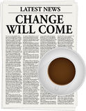 Change will come Royalty Free Stock Image