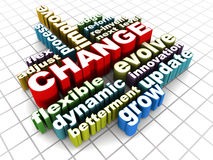Change words Stock Photos
