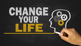change your life Royalty Free Stock Photography