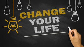 Change your life Stock Photo