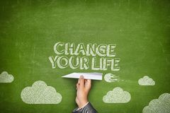 Change your life concept Royalty Free Stock Images