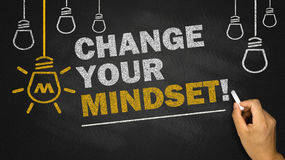 Change your mindset Stock Photography