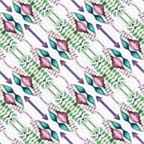 Changement d'élément de kaléidoscope de batik Image libre de droits