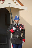 Changement de la cérémonie de gardes au Monaco Image libre de droits