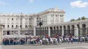Changement de la garde Guard, Madrid Photos libres de droits