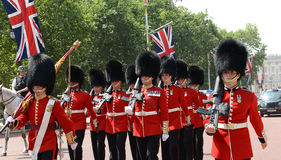 Changement de la garde, Londres Photos libres de droits
