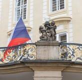 Changement de la garde Prague - Tchèque Images stock