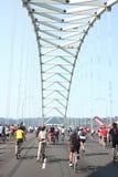 Changement Portland de cyclistes Photographie stock libre de droits