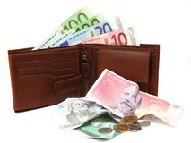 Changeover to the euro in Estonia Stock Photography