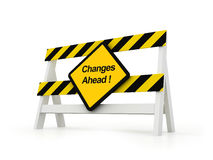 Changes Ahead Royalty Free Stock Images