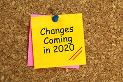 Changes coming in 2020