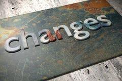 Changes Stock Photo