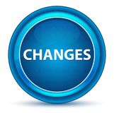 Changes Eyeball Blue Round Button vector illustration