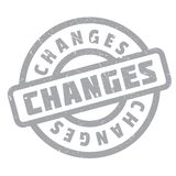 Changes rubber stamp Stock Images