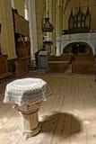 Changez dans la chapelle chez Biertan a enrichi l'église, Roumanie Photos libres de droits
