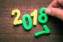 Changez l'année Image stock