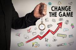 Changez le jeu Concept d'affaires Image stock
