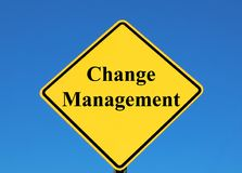 Changez le management Images libres de droits