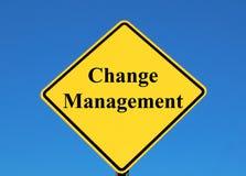 Changez le management Images libres de droits