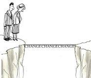 Changez le management Image stock