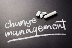Changez le management Photos stock