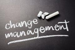 Changez le management Photos stock