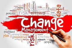 Changez le management Photo libre de droits