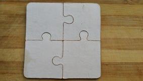 changez le puzzle facile des parties eps8 de couleurs remettant à la côte le vecteur Photo libre de droits