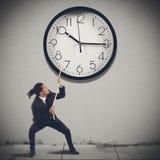 Changez le temps photographie stock libre de droits