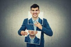Changez votre émotion photographie stock