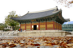 Changgyeong Palace in Seoul Stock Images