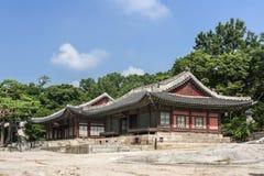Changgyeong slottkorridorer - Seoul Royaltyfri Fotografi