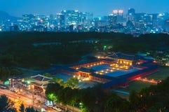 Changgyeonggung宫殿 免版税库存照片